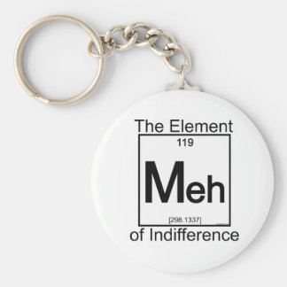 Element MEH Basic Round Button Key Ring