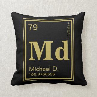 Element of You! Gold Element Custom Name Cushion