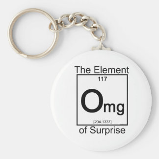 Element OMG Basic Round Button Key Ring