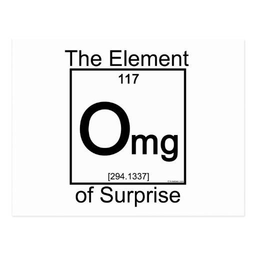 Element OMG Postcards