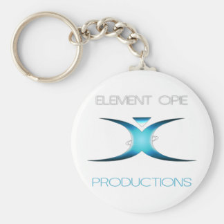 Element Opie Branded Gear Basic Round Button Key Ring