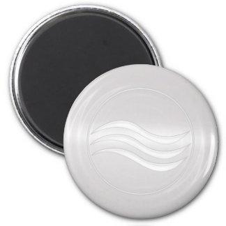 Element Water 6 Cm Round Magnet