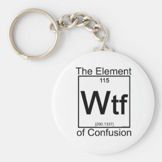 Element WTF Basic Round Button Key Ring