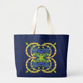 Elemental Abstract Jumbo Tote Bag