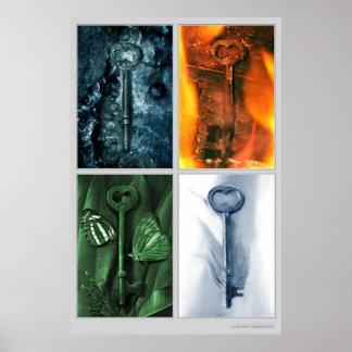 Elemental Keys Poster