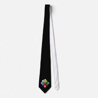 Elemental Pentagram Tie