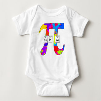 Elementally Cute as Pi (butterfly) Baby Bodysuit