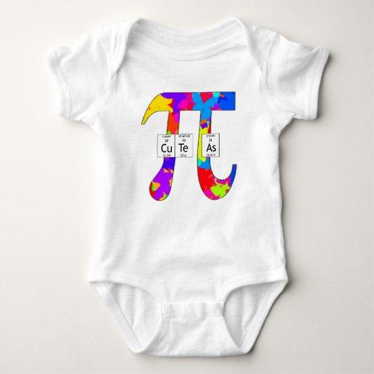 Elementally Cute as Pi (butterfly) Baby Bodysuit