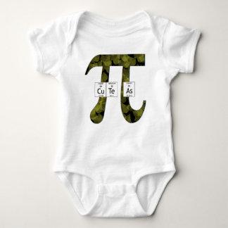 Elementally Cute as Pi (leaves) Tshirt