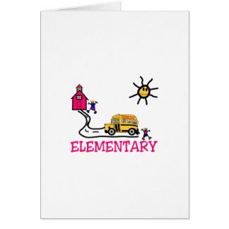 Elementary Greeting Card