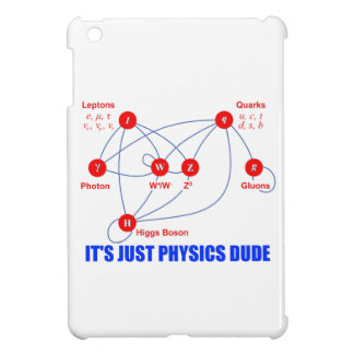 Elementary Particles of Physics Higgs Boson Quarks iPad Mini Case