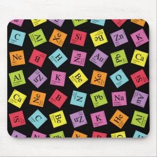 Elementary Periodic (Dark) Mousepad