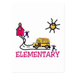 Elementary Postcard