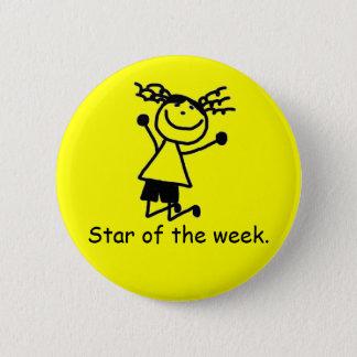 Elementary primary school reward button badge