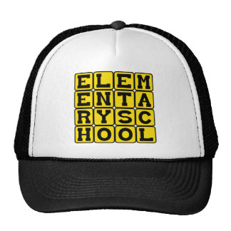 Elementary School, Grammar School Hat