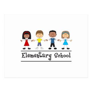 ELEMENTARY SCHOOL POSTCARD