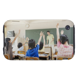 Elementary school students at school 2 tough iPhone 3 covers