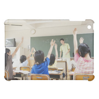 Elementary school students at school 2 iPad mini cover