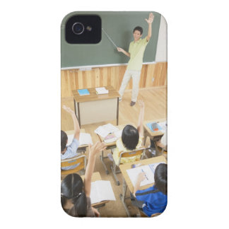 Elementary school students at school iPhone 4 cases
