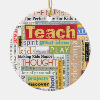 Elementary School Teacher Christmas Ornament