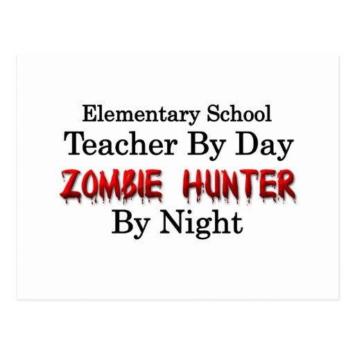 Elementary School Teacher/Zombie Hunter Postcards