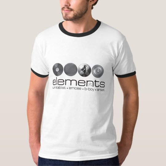 elements 2008 Black T-Shirt