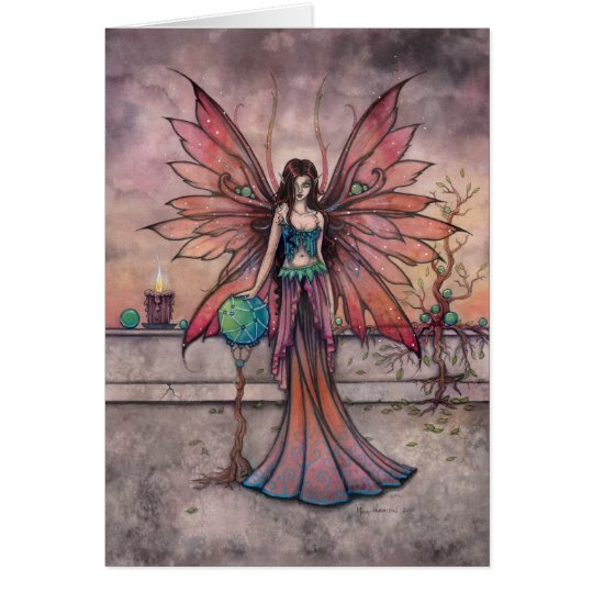 Elements in Sync Fairy Fantasy Art Card