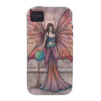 Elements in Sync Gothic Fairy Fantasy Art iPhone 4 Case
