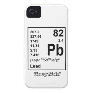 Elements of Heavy Metal Blackberry Case