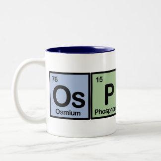 Elements of Osprey Two-Tone Coffee Mug