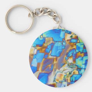 Elements/Yttrium under the microscope Key Chains
