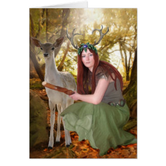 Elen of the ways greeting card