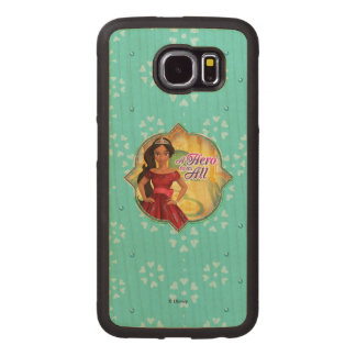 Elena & Isabel | A Hero To Us All Wood Phone Case