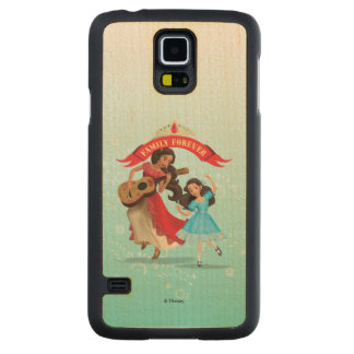 Elena & Isabel | Sister Time Maple Galaxy S5 Slim Case