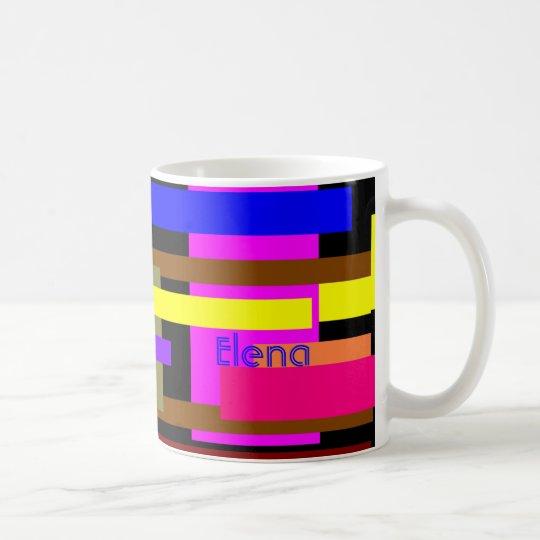 Elena's coffee mug