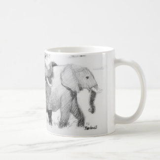 Elepephants Wraparound Coffee Mug