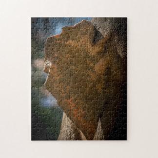 Elephant 05 Digital Art - Photo Puzzle