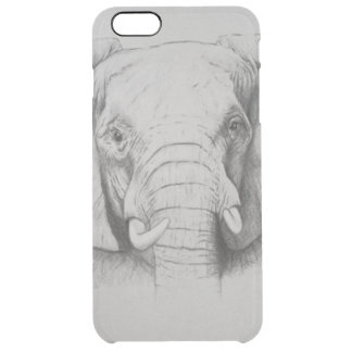 Elephant 2011 clear iPhone 6 plus case