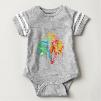 elephant (2 sides) baby bodysuit