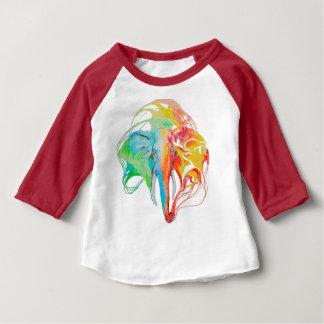 elephant (2 sides) baby T-Shirt