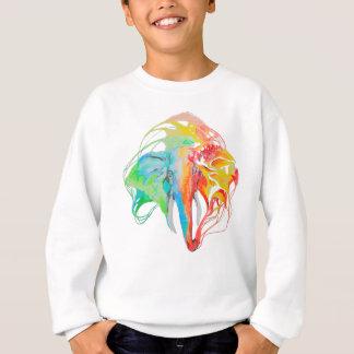 elephant (2 sides) sweatshirt