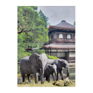 Elephant Ancestors Acrylic Wall Art