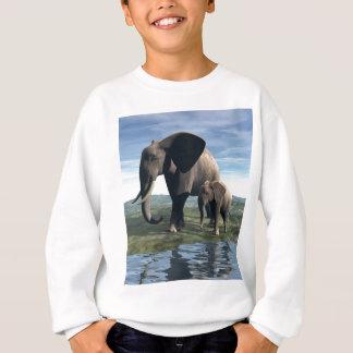Elephant and Baby Sweatshirt