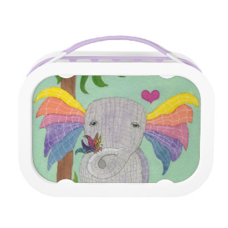Elephant and Butterfly BFF Lunch Box