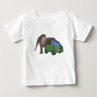 elephant and car tshirt