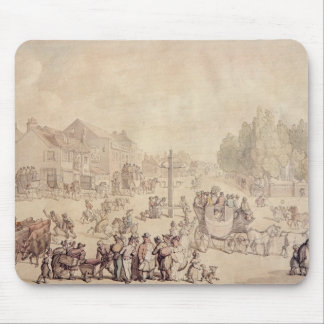 Elephant and Castle Mouse Pad