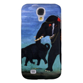 Elephant and Cub Samsung Galaxy S4 Cases