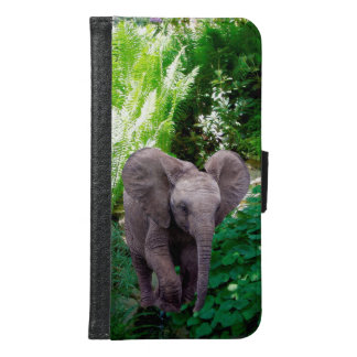 Elephant and Jungle Samsung Galaxy S6 Wallet Case