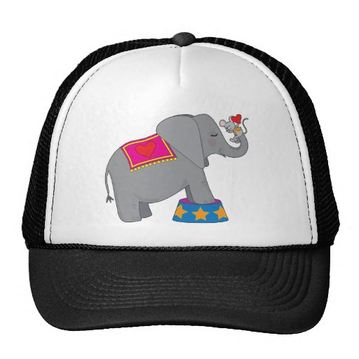 Elephant and Mouse Hats