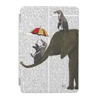 Elephant and Penguin iPad Mini Cover